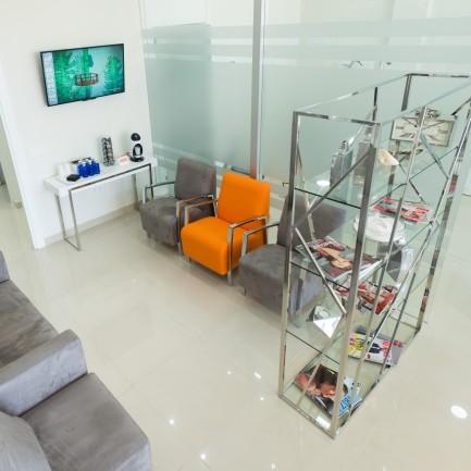 clinica dental algeciras - sala de estar